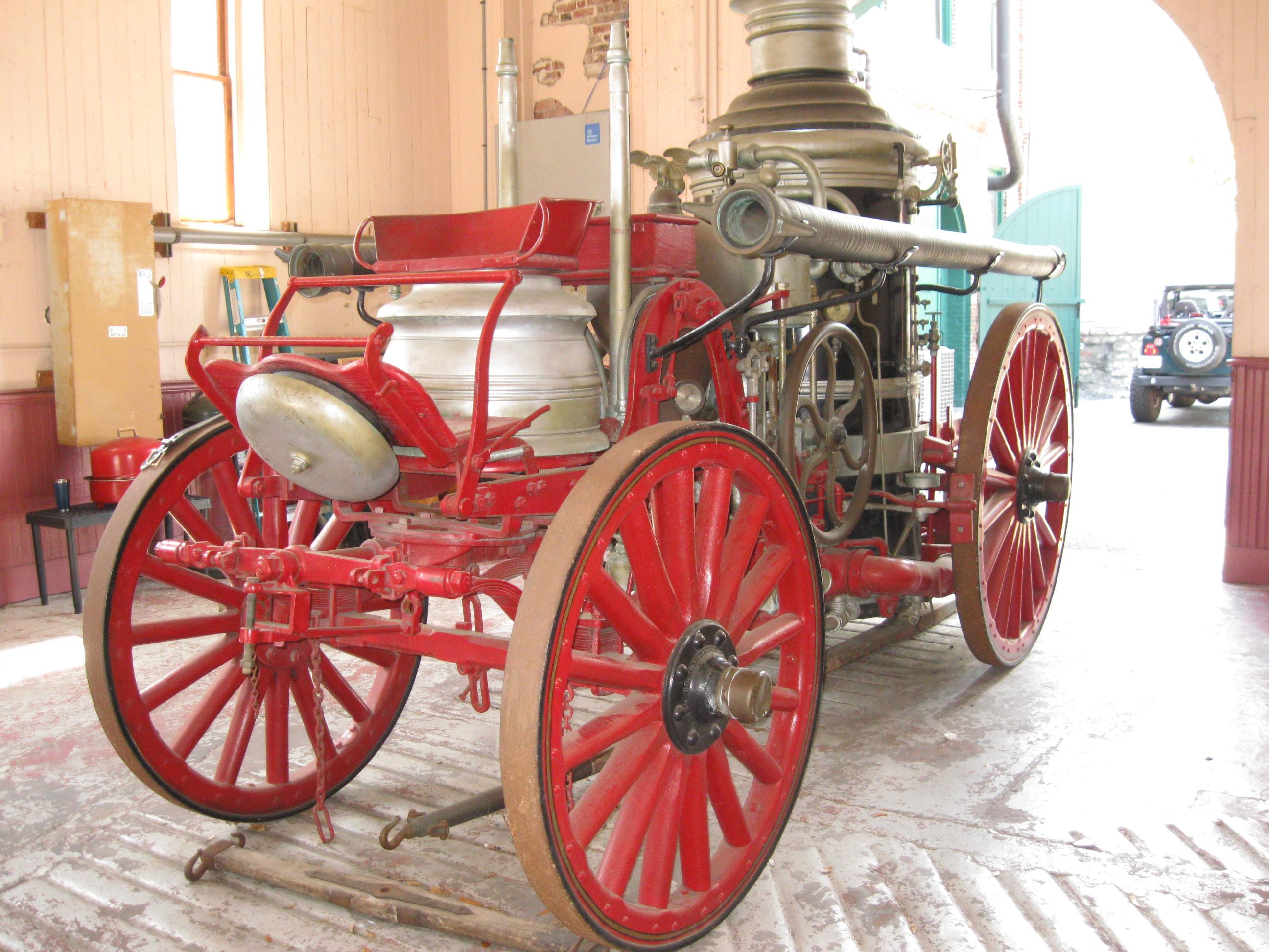 Steam Fire Engine Charleston Walking Tours By Michael