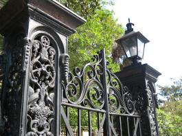 Ironwork Mikell House